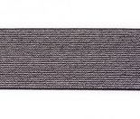 glitter-elastiek-5-cm-breed-:---HALVE-METER-zwart