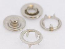 open-ring-metalen drukkers 11 mm