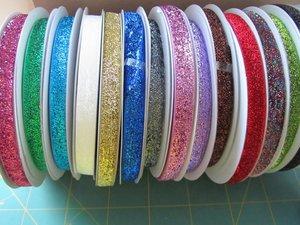 glitterband 15 mm breed