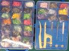 koffer en tang met 660 complete snaps