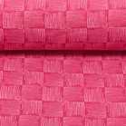 Rick, french terry blokjes gevuld met strepen: roze/lichtroze