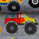 Fiete softshell: Monstertrucks op