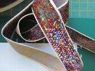 glitterband 15 mm, allerlei kleurtjes