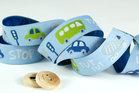 Traffic-sierbandje, blauw/groen