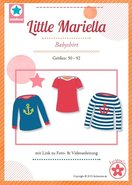 Little Mariella/ patroon van een babyshirt in de maten 50-92