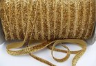 glitterelastiek goudkleurig 1cm breed