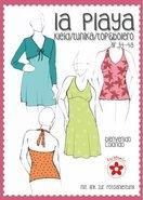 La Playa, patroon van een jurk met kort vest