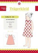 Klimperklein, Trägerkleid (overgooier of jurkje met mouwen) in de maten 56 /164