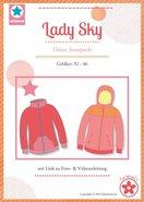 Lady Sky, patroon van een vest of jack in de maten 32 t/m 46