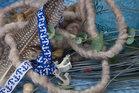 Ankerband blauw-wit uit deOn The Open Sea-serie vanLilaLotta