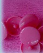 minisnaps roze glanzend met kort steeltje!!
