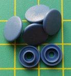 kleine snaps jeansblauw MAT /B32M16