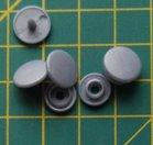 kleine snaps zilvergrijs MAT /B45M16
