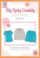 Big Lady Cassidy, blouse voor dames in de maten 46,48,50,52,54,56,58
