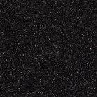 fijne boordstof zwart met zilver lurex / 90 cm rondgebreid