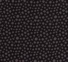 Karla: zwarte boordstof met ingeweven grijze noppen
