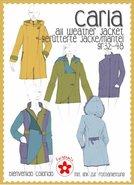 Carla: patroon van een jas of jack in de maten 32 t/m 48