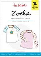 ZOELA, heel fijn raglan T-shirt