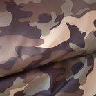 Noah: waterdichte jassenstof: legerprint armykleuen