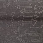 Pondero = reflecterende softshell: pijlen op grijs