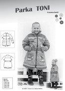 TONI parka, een winterjas voor jongens en meisjes in de maten 86-92 t-m 146ß152