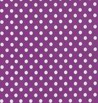 Verena: paars met witte noppen