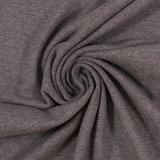 Eike melange: zacht-geruwde sweattricot grijs met stretch_