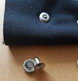Holniet 9 mm zilverkleurig 10 stuks_