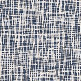 Vera, Criss-Cross jeansblauw/offwhite_