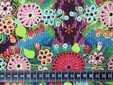 Flower Parade: bonte bloemenstof_