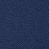 Dotty: 100 % katoenen poplin donkerblauw met blauwe kleine stipjes_