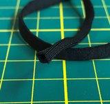 elastiek 5 mm zwart, heerlijk zacht, rekt enorm goed_