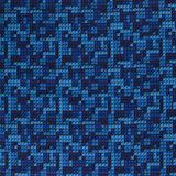 Softshell bouwsteentjes blauw_