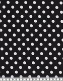 Verena: zwart met witte noppen_