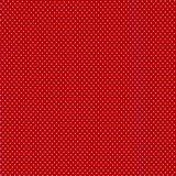 Verena: helder rood met witte stippen_