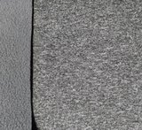 Bora: grijs gemêleerd: High-tech softshell: wind- en waterdicht! En toch ademend!_