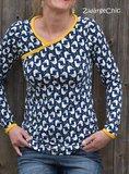 Lady Zeena, patroon van een shirt van MiaLuna (introductiekorting)_
