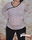Big Lady Ruby, patroon van een shirt van MiaLuna _
