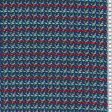 Donna Lucia by Lila Lotta Swafing exclusive, blauw met kleurtjes (niet-rekbare stof)_