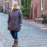 Big Lady Neve, patroon van een parka jas van MiaLuna (introductiekorting)_