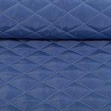 Doorgestikte jassenstof met aan de binnenkant een superzachte pluche: jeanskleur_
