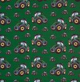 Fiete: softshell: grote en kleine tractors in het groen! _