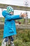 NEVE Kids, een parka voor herfst en winter maat 80 t/m 122_