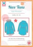 NEVE Teens, een parka voor herfst en winter maat 128 t-m 164_