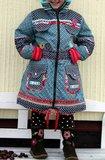 TONI parka, een winterjas voor jongens en meisjes in de maten 86-92 t-m 146ß152_