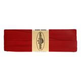 3 meter tricot biaisband donkerrood/bordeauxrood_