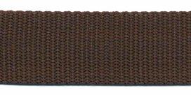 stevig tassenband 2,5 cm breed, bruin