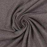 Eike melange: zacht-geruwde sweattricot grijs met stretch