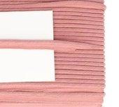paspelband oudroze met gedraaid koord 4mm dik