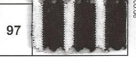 HILCO campan zwart/creme (gebroken wit)